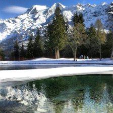 Face au Mont Blanc ! Contamines montjoie