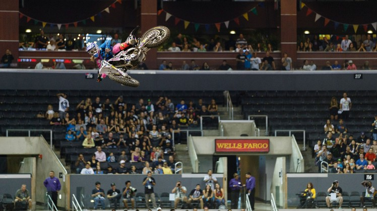 ©Trevor Brown, Jr.  Vicky Golden Whip at X Games Los Angeles 2013