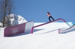 qualification for the 2014 Sochi winter Olympics snowboard slopestyle