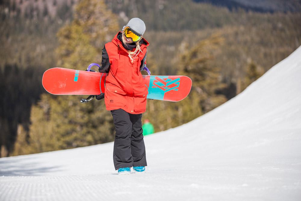 Veste snowboard femme rip curl