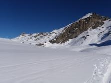 Neige froide au sommet