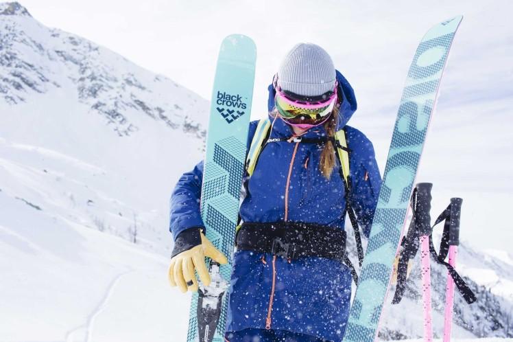 ski de rando femme black crows