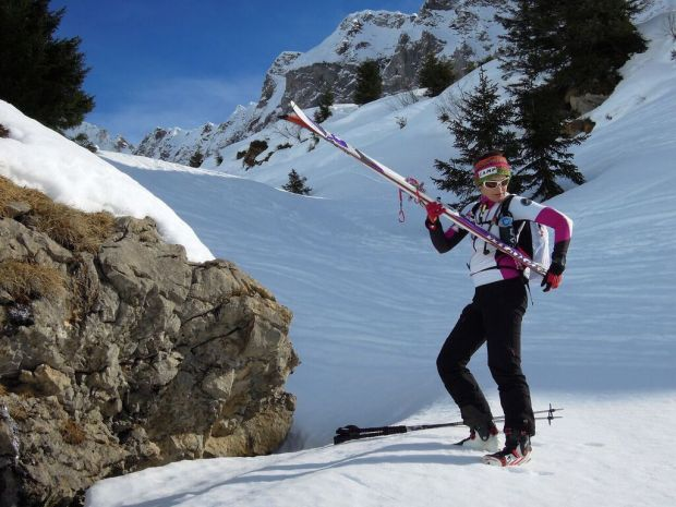 tanya ski alpinisme fille