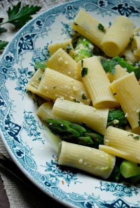 rigatoni aux asperges pesto au citron bd3