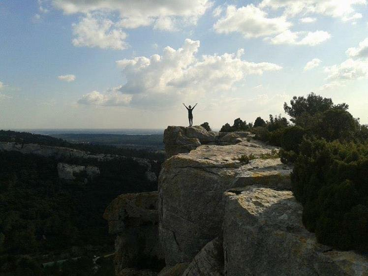 yoga alpilles