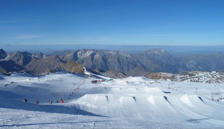 Glacier ski été 2 alpes
