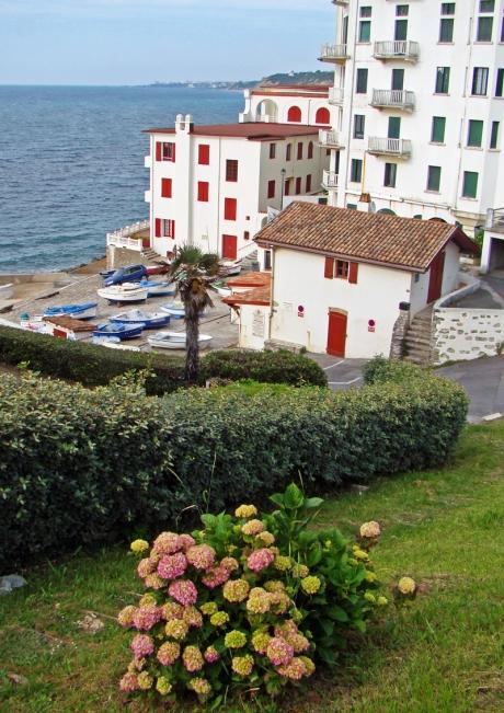 port de guéthary au pays basque