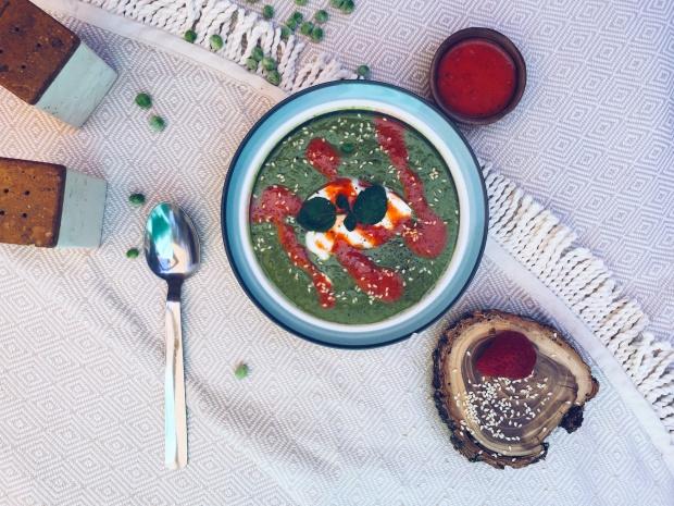 soupe-cresson-petits-pois-verte-healthy