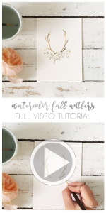 antler-fall-leaves-watercolor-tutorial