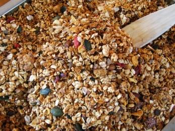 granola-cuisson