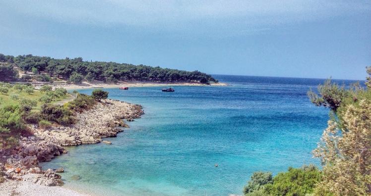 beach croatie