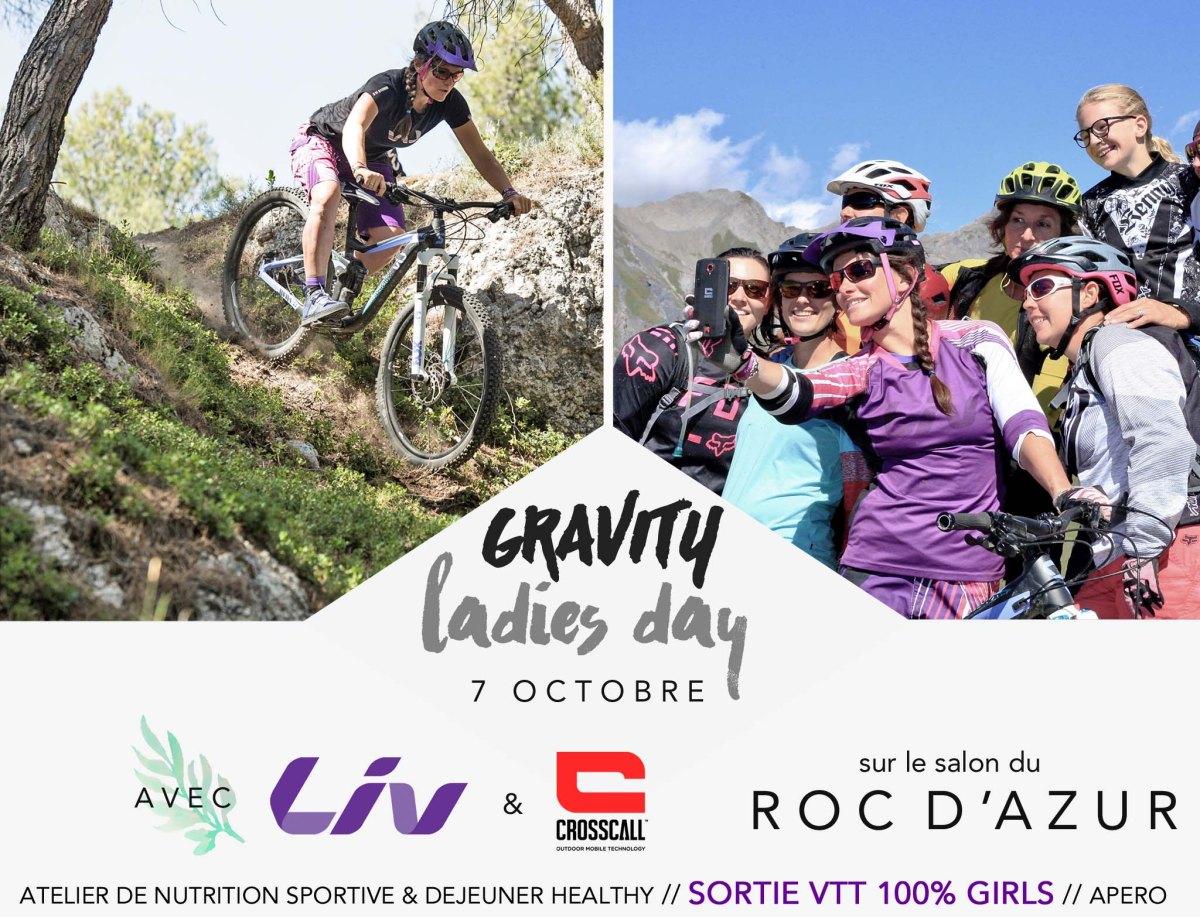 Gravity Ladies au Roc d'Azur : une journée spéciale !