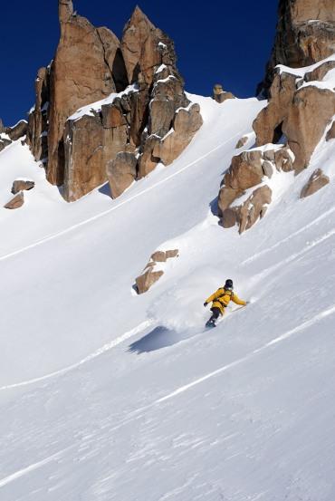 Cerro Catedral - Freeride Argentine snowboard