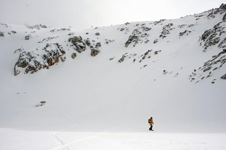 Cerro Catedral - FREERIDE SNOWBOARD