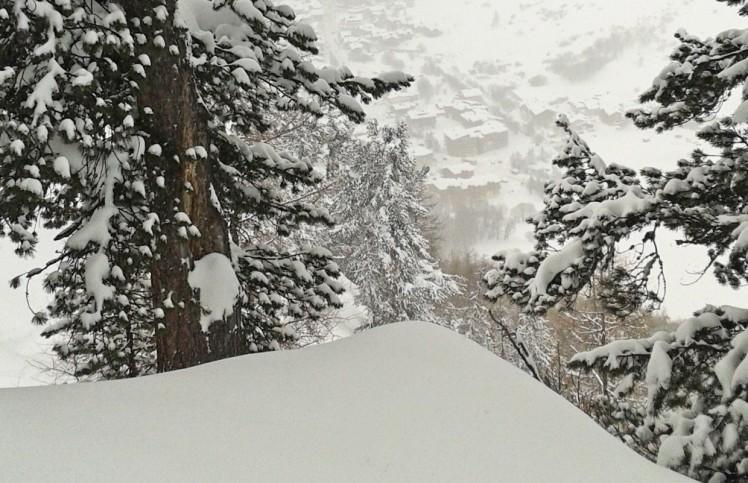 météo DE montagne RETOUR EST neige