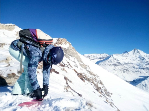 roxy primaloft snow veste
