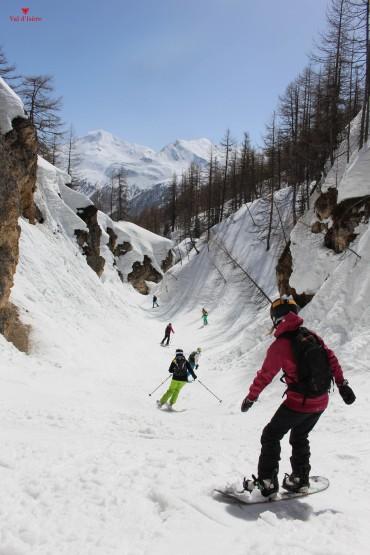1Journée hors piste ski val d'isere