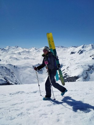 1Splitboard ski de rando camp filles roxy