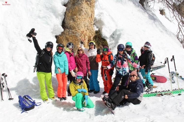 2Journée hors piste ski val d'isere