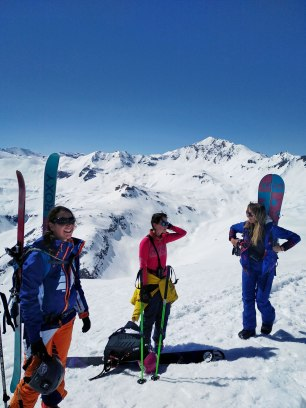 2Splitboard ski de rando camp filles roxy
