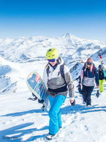 3Journée hors piste ski val d'isere