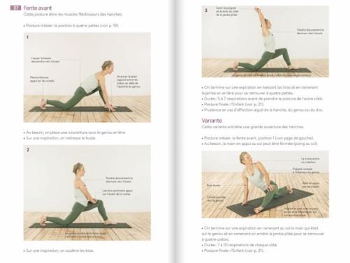yoga et escalade postures