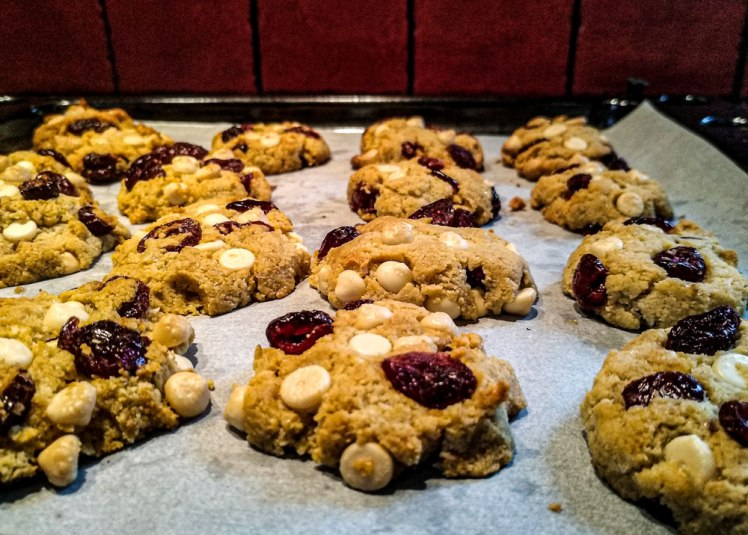 cookies-healthy-chocolat blanc cranberries